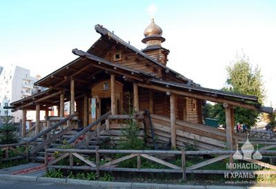 храм Николая Чудотворца на Юрковской
